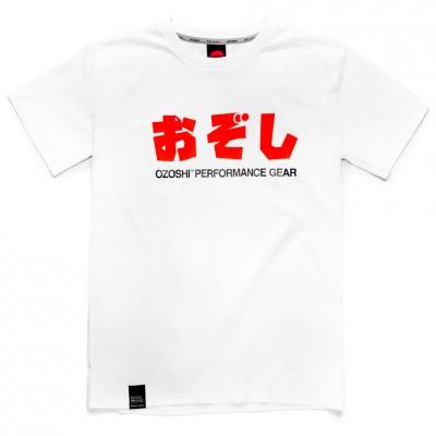 Tricou Ozoshi Haruki alb TSH O20TS011 pentru Barbati