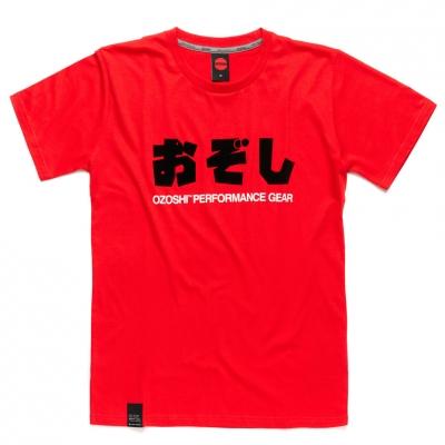 Tricou Ozoshi Haruki rosu TSH O20TS011 pentru Barbati