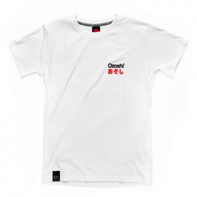Tricou Ozoshi Isao alb TSH O20TS005 pentru Barbati