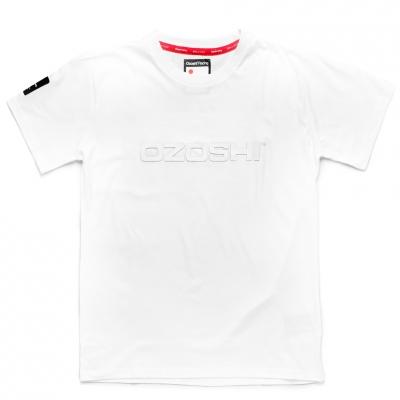 Tricou Ozoshi Naoto alb O20TSRACE004 pentru Barbati