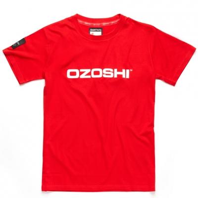 Tricou Ozoshi Naoto rosu O20TSRACE004 pentru Barbati