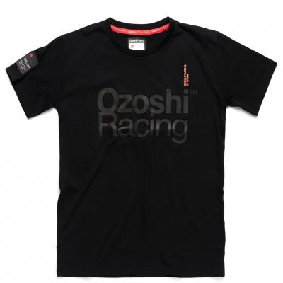 Tricou Ozoshi Satoru negru O20TSRACE006 pentru Barbati