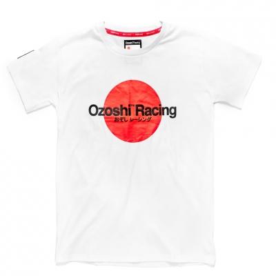 Tricou Ozoshi Yoshito alb O20TSRACE005 pentru Barbati