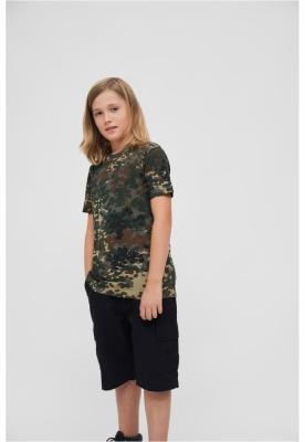 Tricou pentru Copii camuflaj Brandit