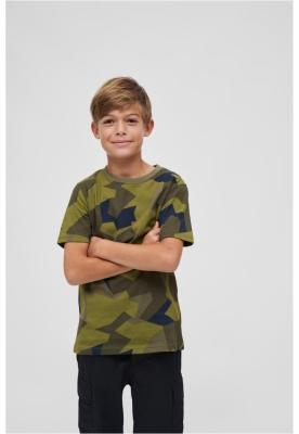 Tricou pentru Copii swedish-camuflaj Brandit