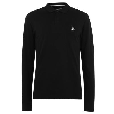 Tricou Polo cu Maneca Lunga Original Penguin Original negru