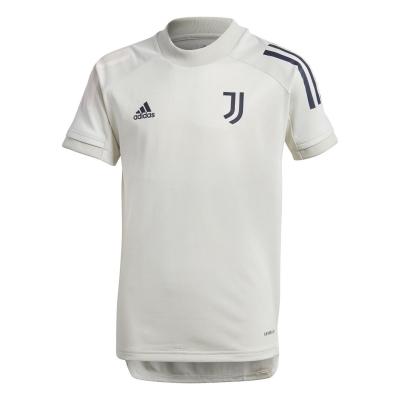 Tricouri antrenament adidas Juventus 2020 2021 pentru copii gri