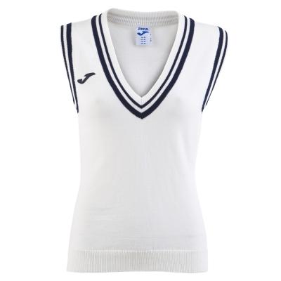 Tricou Polo Tenis 80 Joma fara maneci alb pentru Femei