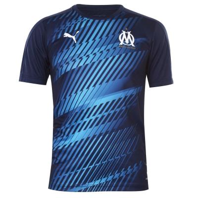 Tricouri Puma Marseille Stadium 2019 2020 pentru Barbati bleumarin albastru