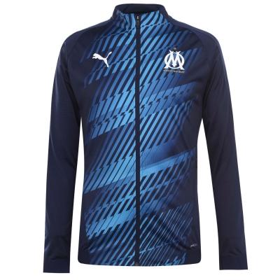 Jacheta Puma Olympique De Marseille Stadium 2020 pentru Barbati bleumarin albastru