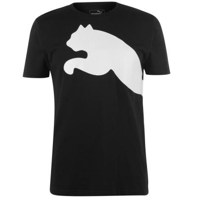 Tricou Puma Big Cat QT pentru Barbati negru alb