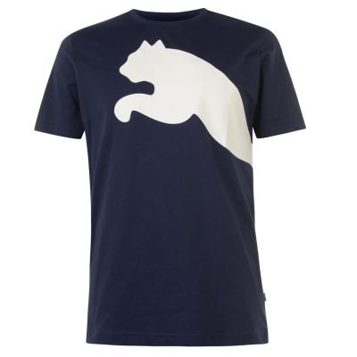 Tricou Puma Big Cat QT pentru Barbati bleumarin alb
