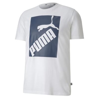 Tricou Puma Big Logo QT pentru Barbati alb