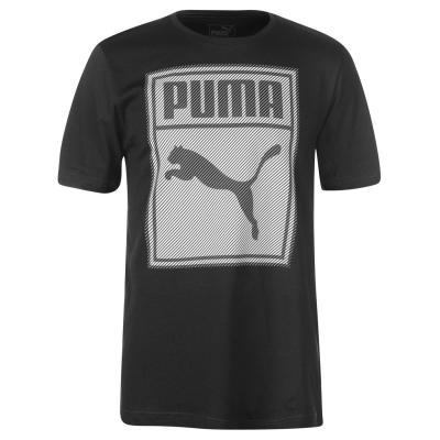 Tricou Puma Box QT pentru Barbati negru gri