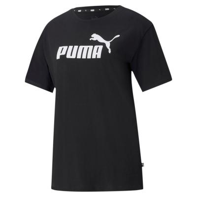 Tricou Puma Essential Logo pentru femei negru