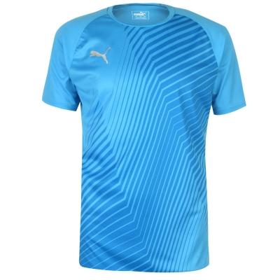 Tricou Puma imprimeu Graphic pentru Barbati albastru roial