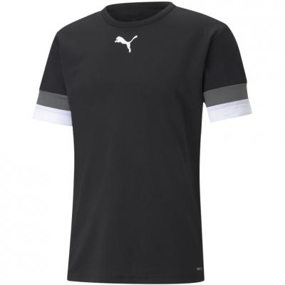 Tricou Puma TeamRISE Jersey negru 704932 03 pentru Barbati
