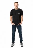 Tricou Pusher Hustle Small Logo negru