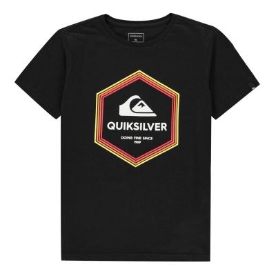 Tricou Quiksilver Lotus pentru baietei negru