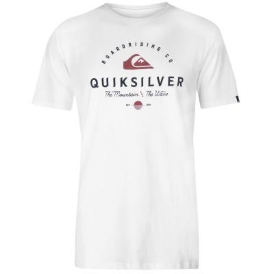 Tricou Quiksilver Working Man pentru Barbati alb