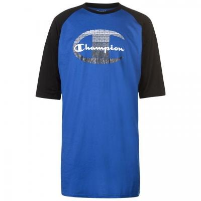Tricou Champion Raglan Sleeve pentru Barbati albastru roial