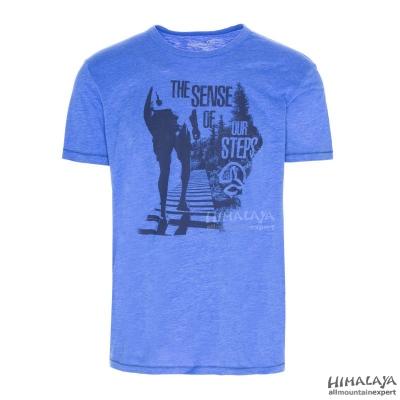 TRICOU RAHEEN MEN c albastru