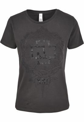 Tricou Rammstein XXI pentru Femei gri-carbune