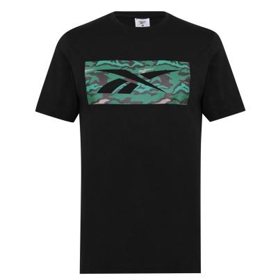 Tricou Reebok Camo negru