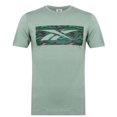 Tricou Reebok Camo verde