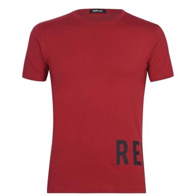 Tricou Replay Rep inchis rosu