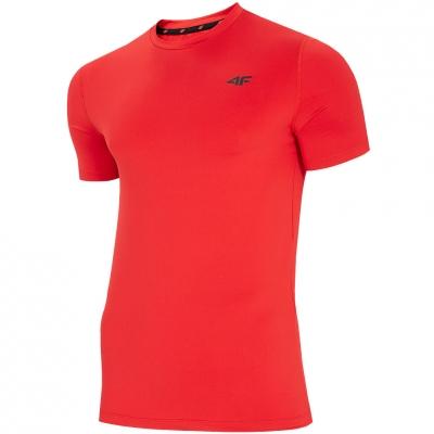 Tricou rosu 4F NOSH4 TSMF002 62S pentru Barbati