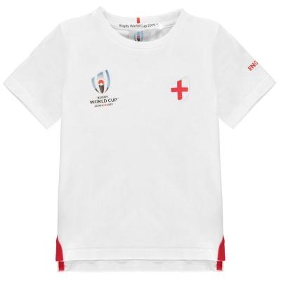 Tricou Rugby Cupa Mondiala 2019 Team bumbac pentru baietei anglia