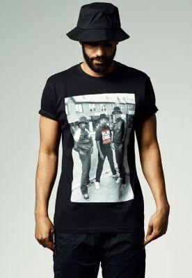 Tricouri cu trupe Run DMC negru Mister Tee