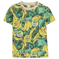 Tricou Scotch and Soda and Soda banane Print