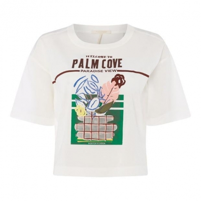 Tricou Scotch and Soda Palm Cove pentru Femei