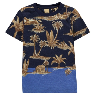 Tricou Scotch and Soda Palm Tree