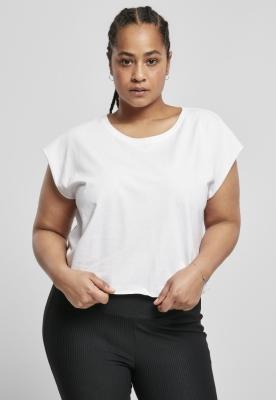 Tricou scurt Organic pentru Femei alb Urban Classics