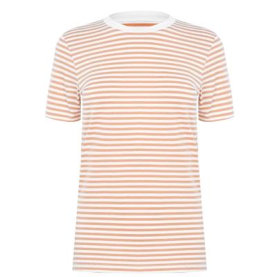 Tricou Selected cu Maneca Scurta Box pentru Femei bright alb
