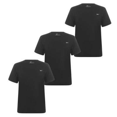 Tricou Set de 3 Reebok pentru Barbati negru