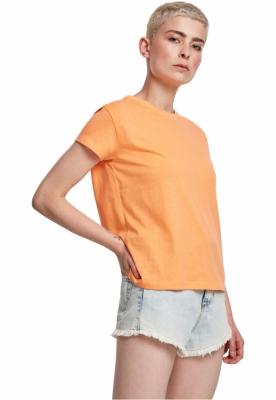 Tricou simplu lejer pentru Femei portocaliu Urban Classics