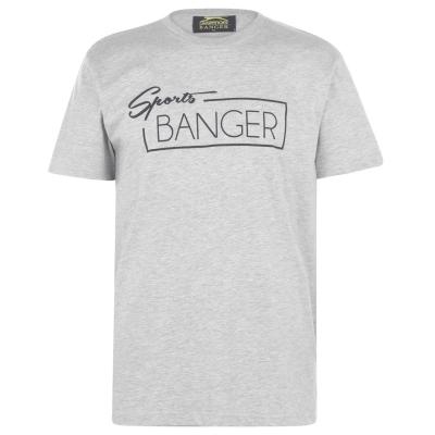 Tricou Slazenger Banger pentru adulti gri sprtbng