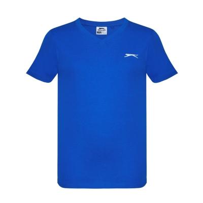 Tricou Slazenger cu decolteu in V pentru baietei albastru roial