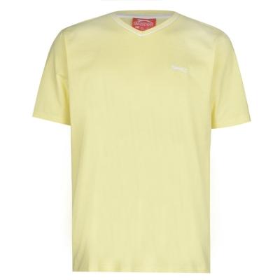 Tricou Slazenger cu decolteu in V pentru Barbati galben