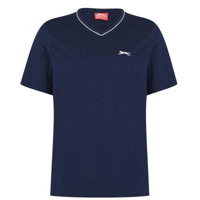 Tricou Slazenger cu decolteu in V pentru Barbati bleumarin