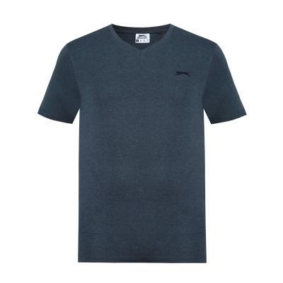 Tricou Slazenger cu decolteu in V pentru Barbati gri carbune