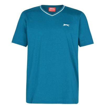 Tricou Slazenger cu decolteu in V pentru Barbati bleu