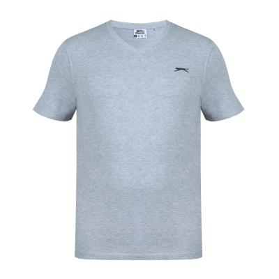 Tricou Slazenger cu decolteu in V pentru Barbati gri