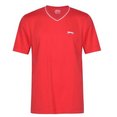 Tricou Slazenger cu decolteu in V pentru Barbati rosu