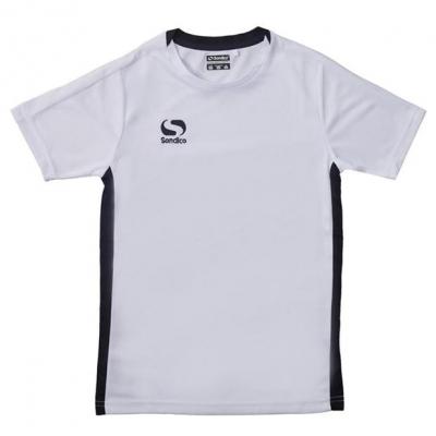 Tricou Sondico Fundamental Polo pentru baietei alb negru