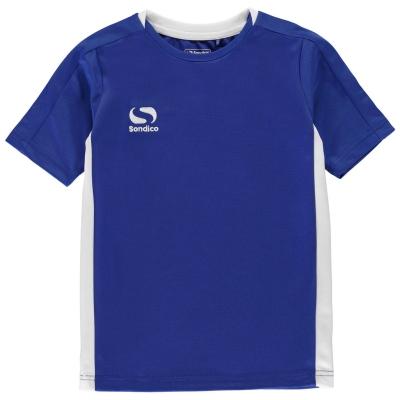 Tricou Sondico Fundamental Polo pentru baietei albastru roial alb